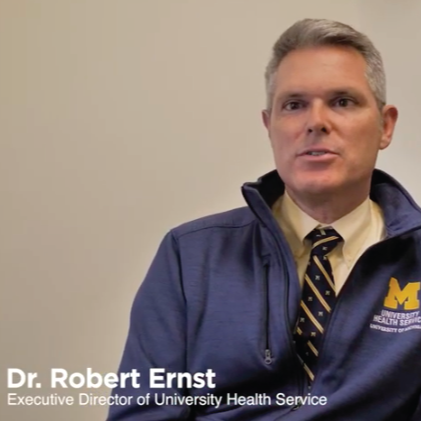 Dr. Robert Ernst Executive Director of University Health Service
