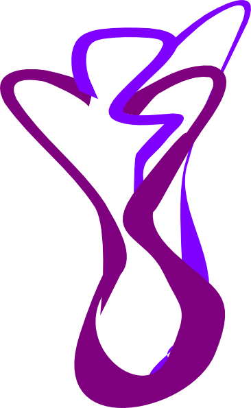 abstract line image with purple and violet colors