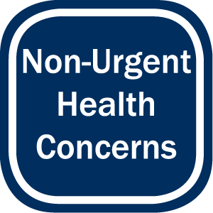 Non-Urgent Health Concerns