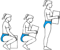 Sequence of lifting