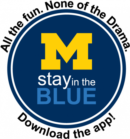 All the fun. None of the drama. Download the app! Block M stay in the blue