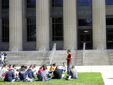 summer program students