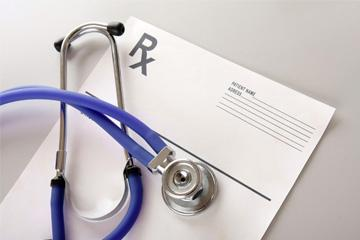 Stethoscope and forms