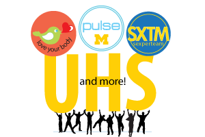 Love your body, PULSE, Sexperteam and more. UHS