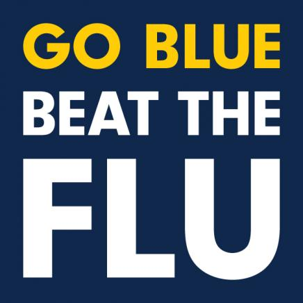 Go Blue, Beat the Flu